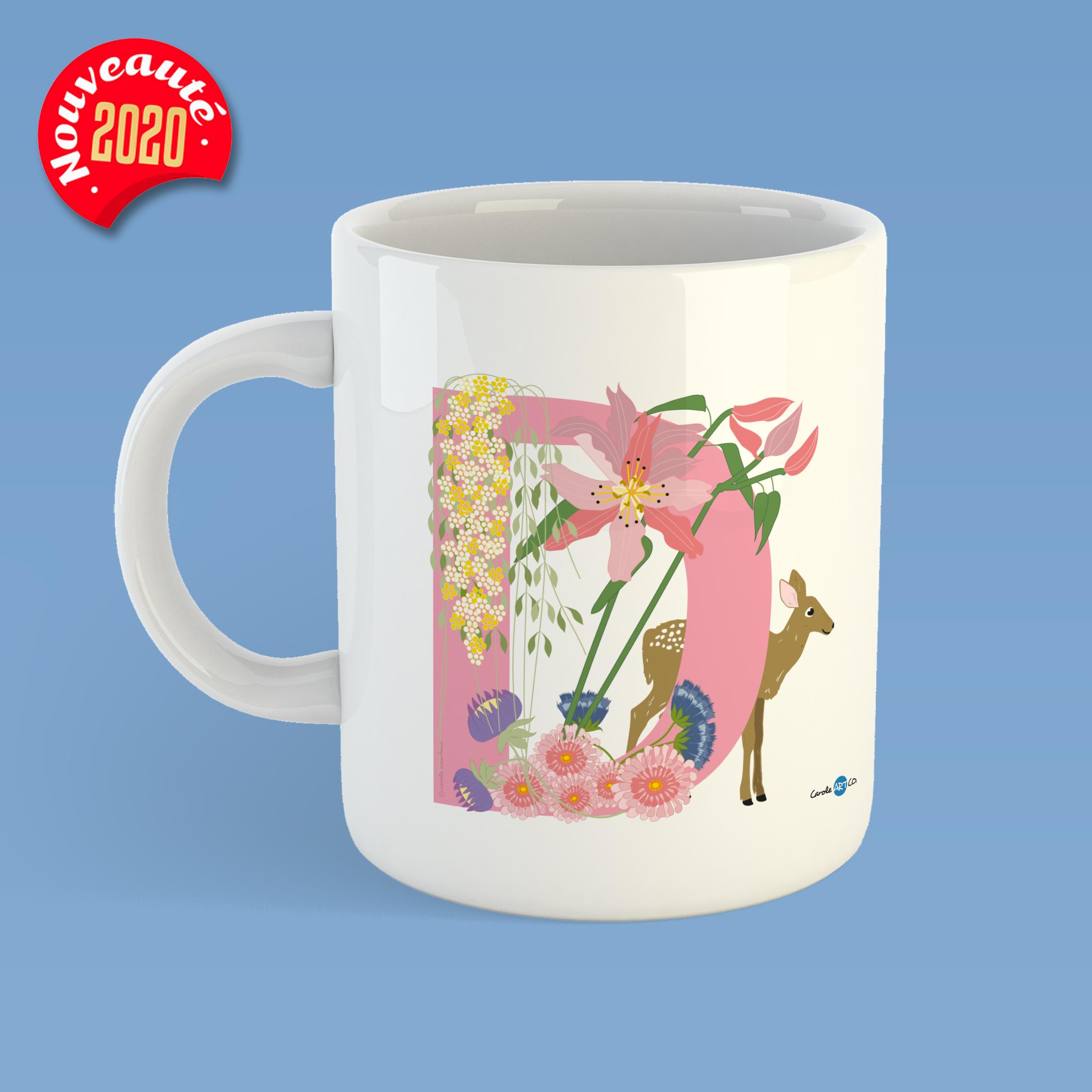 mug-ABC-D mug personnalisé illustration enfant