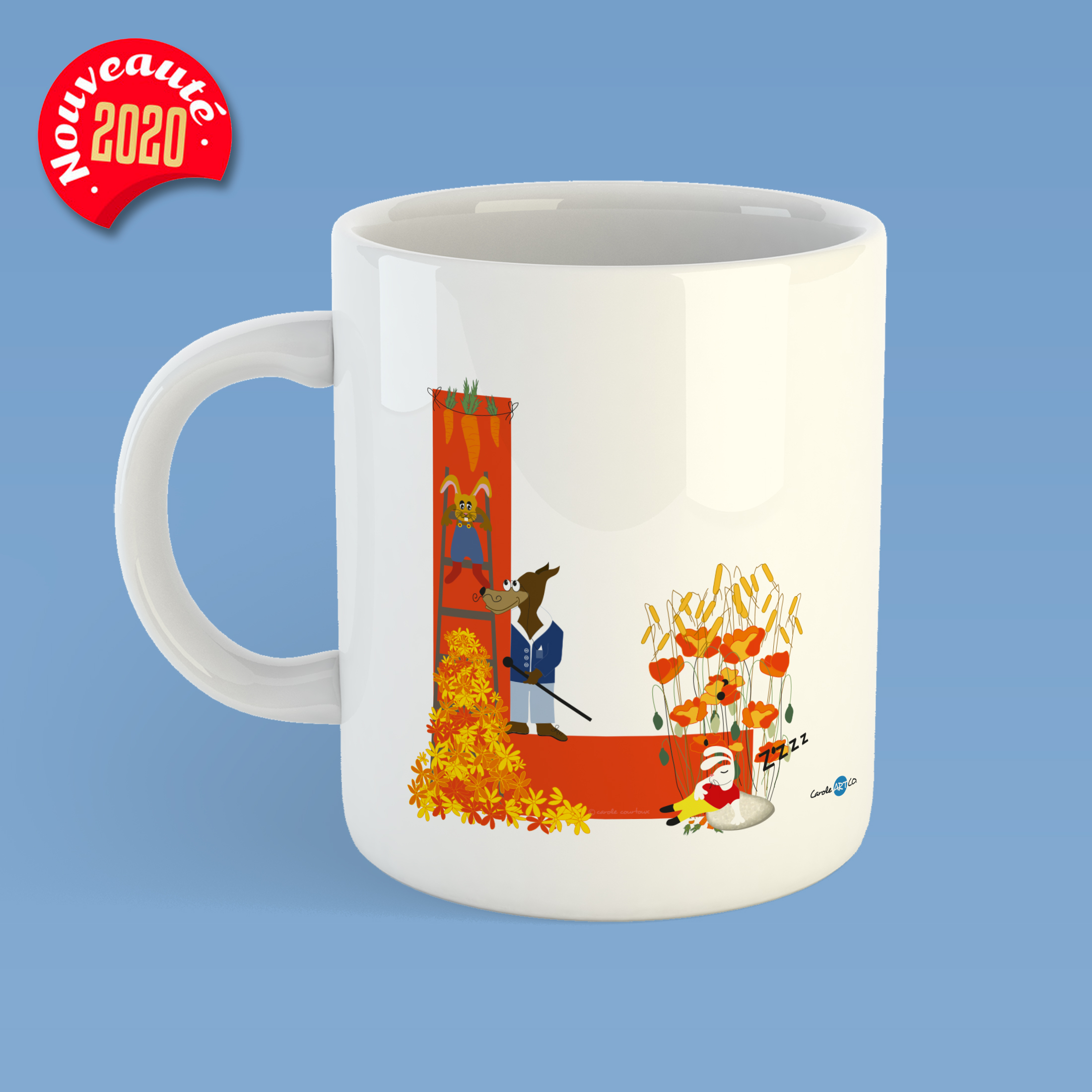 mug-ABC-L mug personnalisé illustration enfant