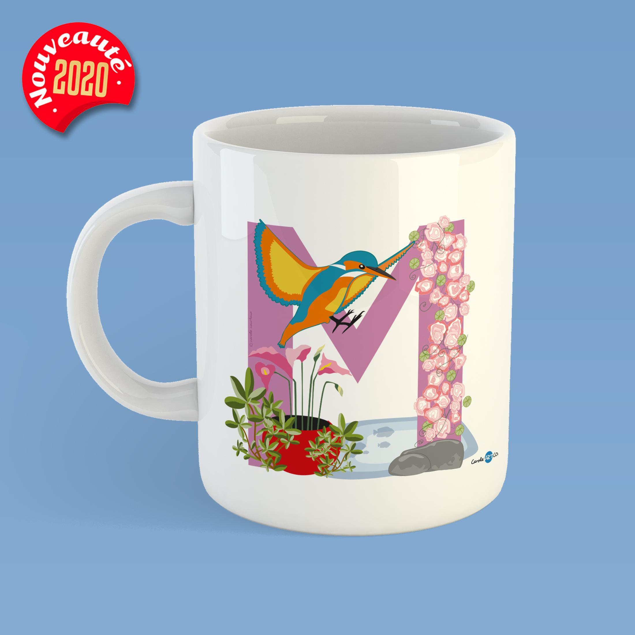 mug-ABC-M illustration pour mug personnalisé