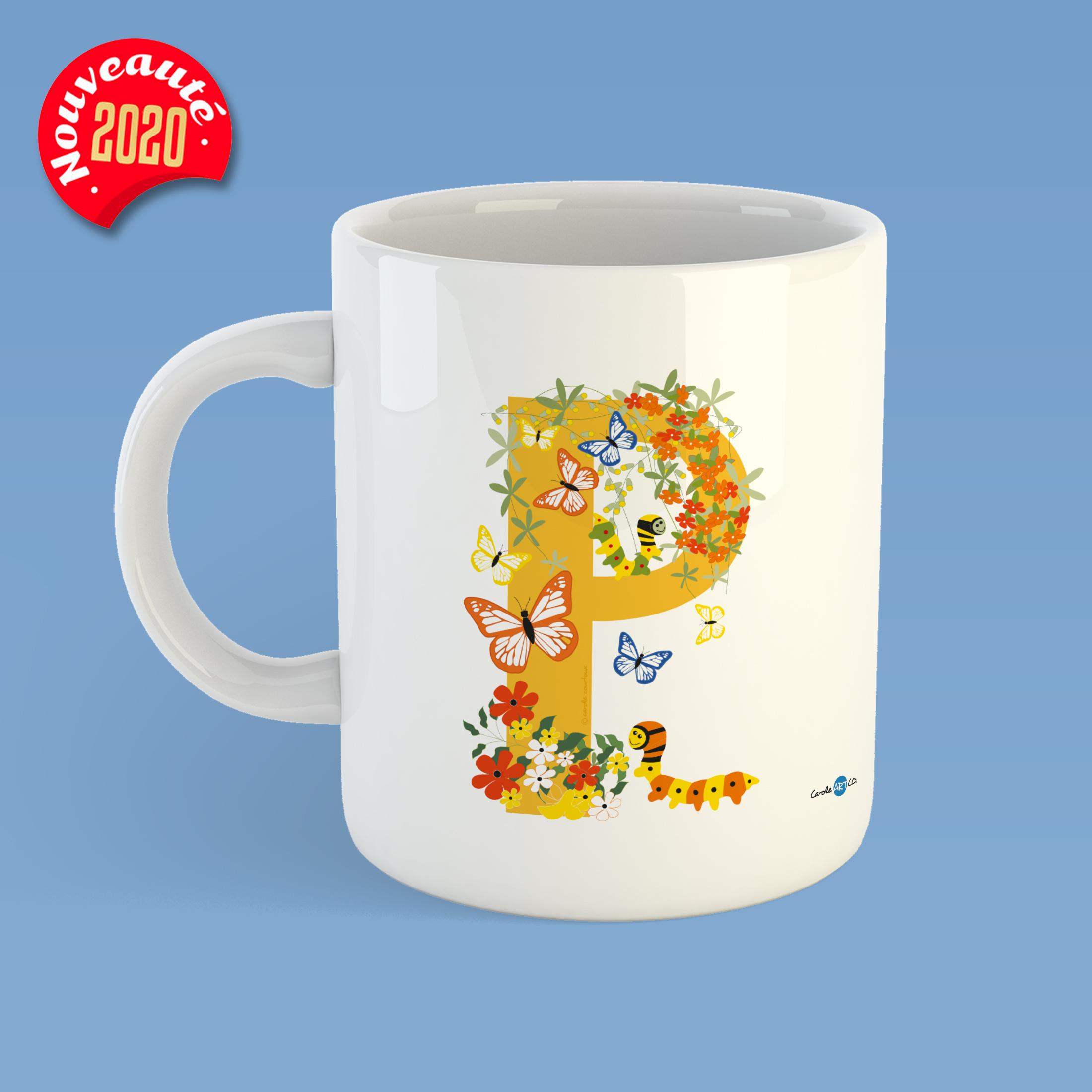 mug-ABC-P mug personnalisé illustration enfant