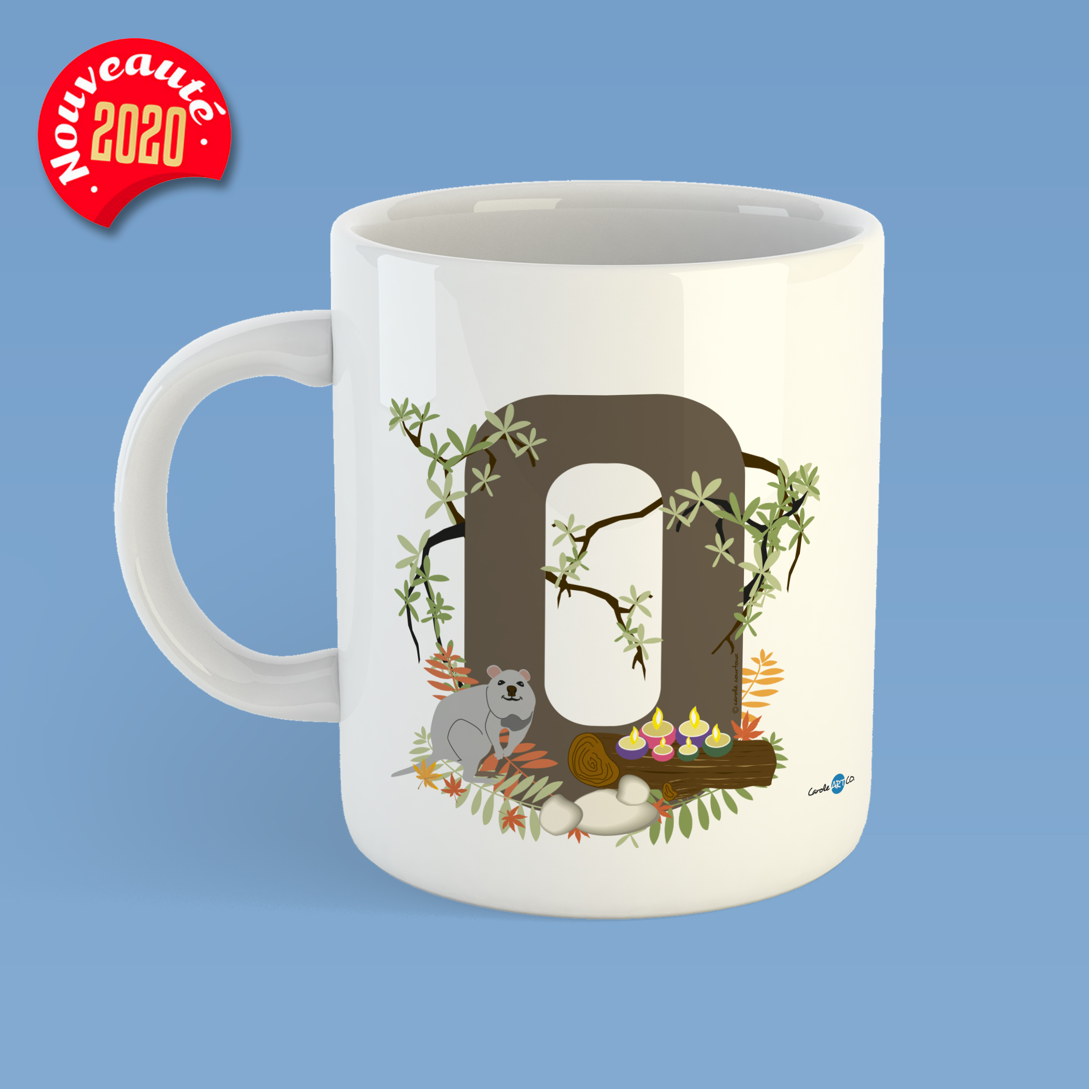 mug-ABC-Q mug personnalisé illustration enfant