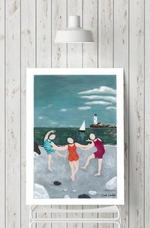 affiches1-peinture-danse mariniere by carole courtoux