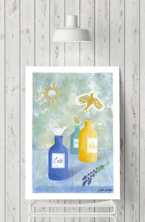affiches1-peinture-essence libre by carole courtoux