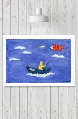 affiches1-peinture-la berlue by carole courtoux