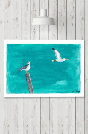 affiches1-peinture-les alyses by carole courtoux