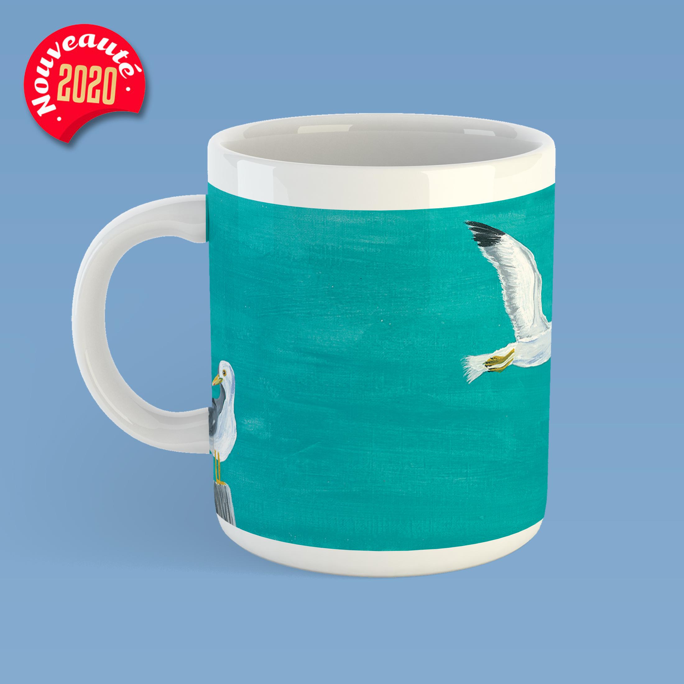 mug peinture les alysees by carole courtoux